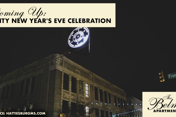 Coming Up: Hub City New Year's Eve Celebration