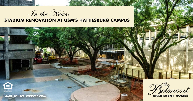 Stadium Renovation at USM's Hattiesburg Campus