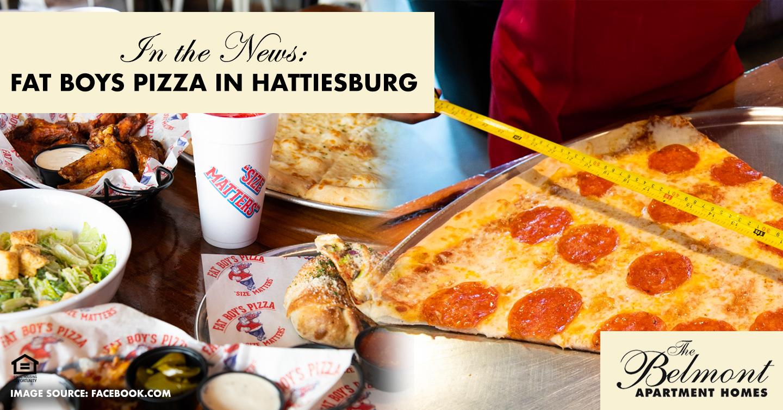 Fat Boys Pizza in Hattiesburg
